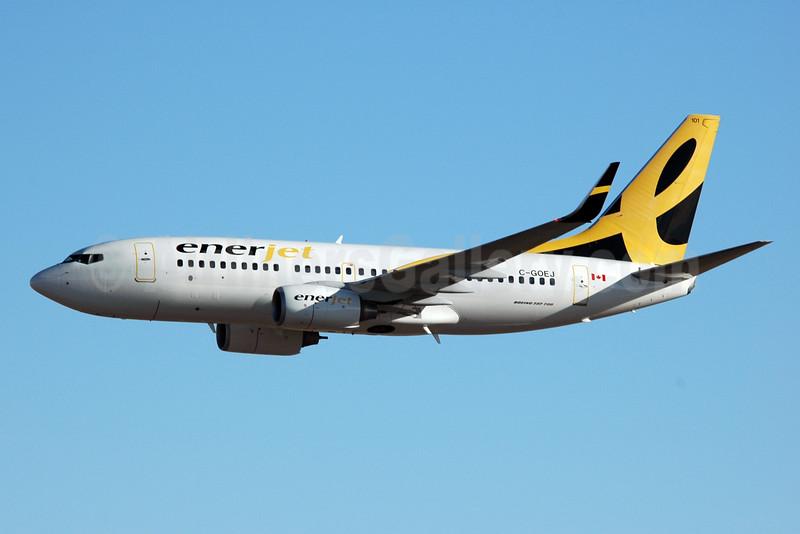 Enerjet Boeing 737-7BD WL C-GOEJ (msn 33920) YYC (Chris Sands): Image: 925654.