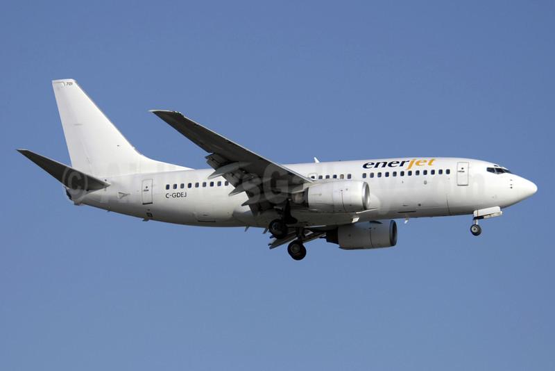 Enerjet Boeing 737-73V C-GDEJ (msn 32427) YYZ (TMK Photography). Image: 911653.