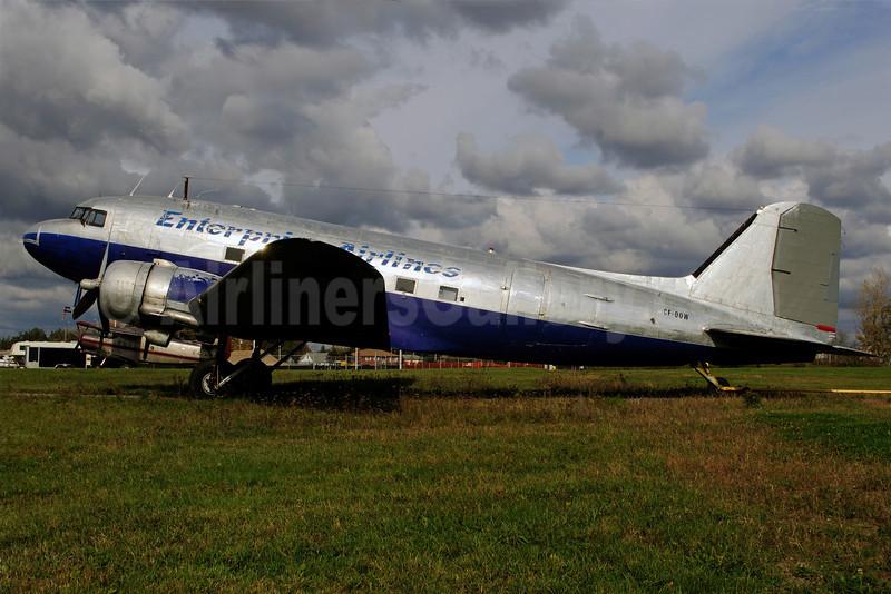 Enterprise Airlines (ALCI Aviation) Douglas C-47A-DK (DC-3) CF-OOW (msn 13342) YOO (Reinhard Zinabold). Image: 907932.