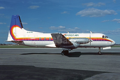 First Air (Bradley Air Services) Hawker Siddeley HS.748-233 Series 2A C-GYMX (msn 1665) YUL (Pierre Langlois). Image: 922428.