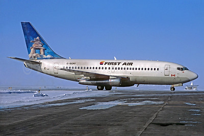 First Air Boeing 737-217 C-GCPT (msn 22258) (Inukshuk) YZF (Jacques Guillem Collection). Image: 932491.