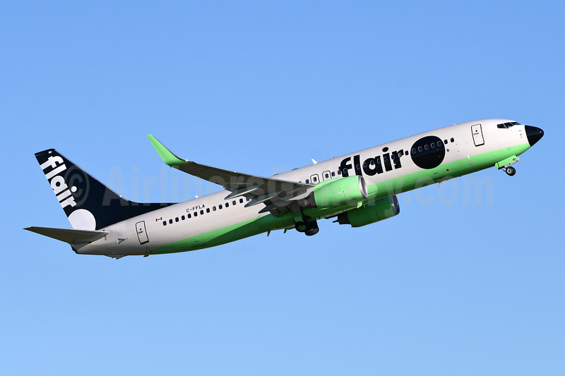 Flair Airlines Boeing 737-86N WL C-FFLA (msn 36548) YYZ (TMK Photography). Image:   947012.
