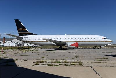 Flair Air Boeing 737-4Q8 C-FLHJ (msn 25104) YYC (Ton Jochems). Image: 928290.
