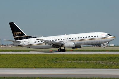 Flair Air Boeing 737-4B3 C-FLEJ (msn 24751) YYC (Chris Sands). Image: 927556.