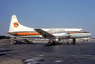 Great Lakes Airlines (Canada) Convair 580 C-GDTE (msn 52) (Christian Volpati Collection). Image: 945674.