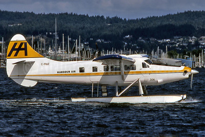 Harbour Air de Havilland Canada DHC-3 Turbo Otter C-FIUZ (msn 135) YCD (Robbie Shaw). Image: 901521.