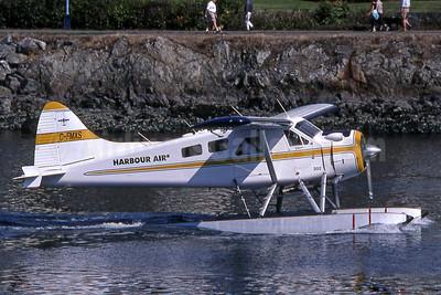 Harbour Air de Havilland Canada DHC-2 Mk. 1 Beaver C-FMXS (msn 1010) YWH (Robbie Shaw). Image: 901519.