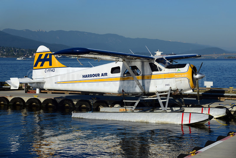 Harbour Air de Havilland Canada DHC-2 Mk. 1 Beaver C-FFHQ (msn 42) YHC (Ton Jochems). Image: 912173.