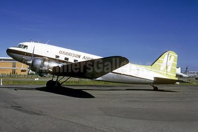 Harrison Airways Douglas C-47A-DL (DC-3) CF-CRZ (msn 20180) YVR (Bruce Drum). Image: 104051.