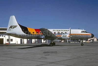 Flightcraft (Kelowna Flightcraft Air Charter)-KF Convair 440-62 C-GKFC (msn 504) YVR (Christian Volpati Collection). Image: 946963.