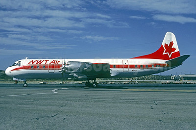 NWT Air (Northwest Territorial Airways) Lockheed 188A Electra C-FNWY (msn 1036) (Christian Volpati Collection). Image: 936875.