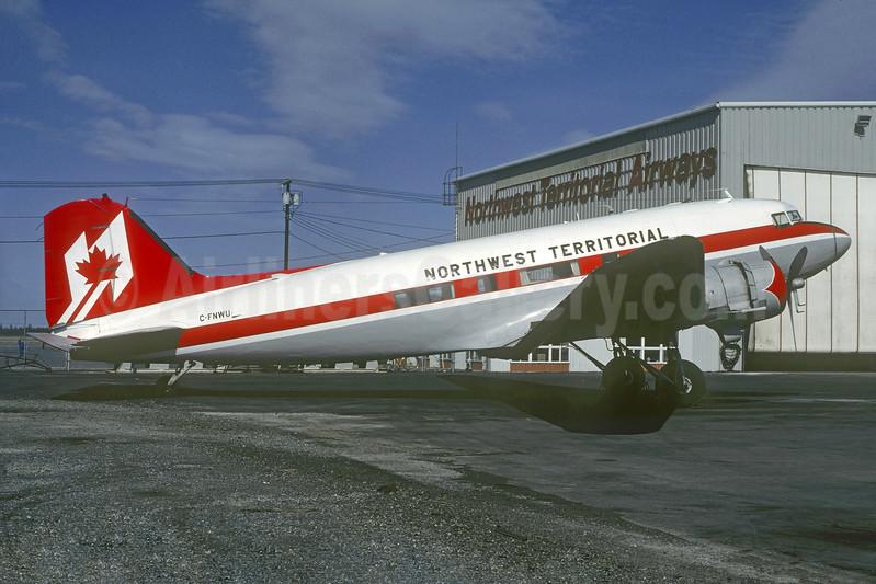 Northwest Territorial Airways Douglas C-47-DL (DC-3) C-FNWU (msn 6095) YZF (Christian Volpati Collection). Image: 936877.