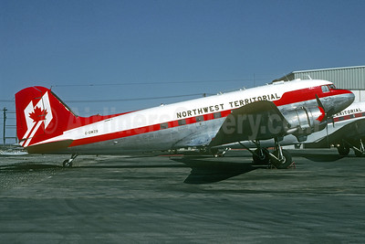 Northwest Territorial Airways Douglas C-47A-DK (DC-3) C-GWZS (msn 12327) YZF (Christian Volpati Collection). Image: 936876.