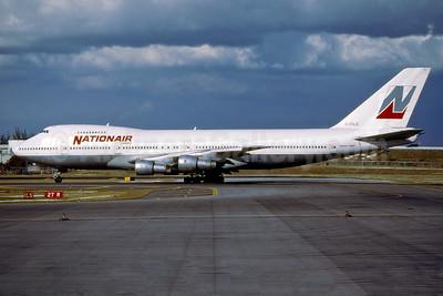 Nationair Canada Boeing 747-1D1 C-FDJC (msn 20208) FLL (Fernandez Imaging). Image: 936902.