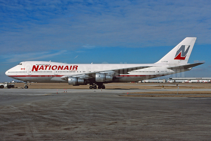 Nationair Canada Boeing 747-1D1 C-FFUN (msn 20305) YYZ (TMK Photography). Image: 937852.