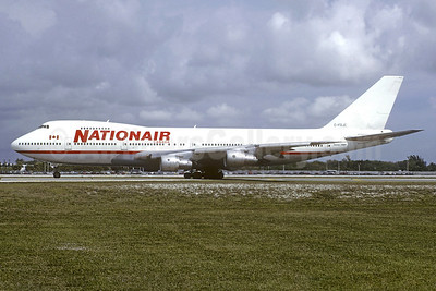 Nationair Canada Boeing 747-1D1 C-FDJC (msn 20208) FLL (Christian Volpati Collection). Image: 937350.