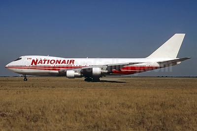 Nationair Canada Boeing 747-257B N304TW (msn 20117) (TWA colors) CDG (Christian Volpati). Image: 937352.