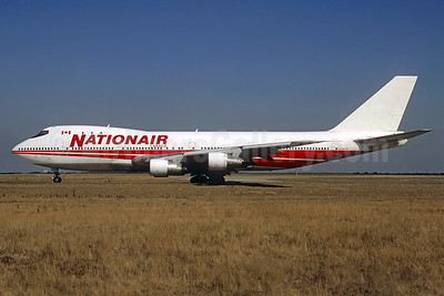 Nationair Canada Boeing 747-257B N304TW (msn 20117) (TWA colors) CDG (Christian Volpati). Image: 937352.