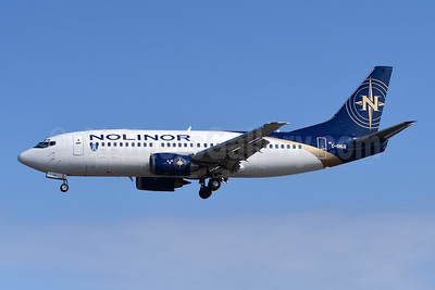 First Nolinor 737-300, delivered on May 27, 2016, with Toronto Argonauts logo