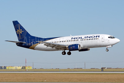 Nolinor Aviation Boeing 737-33A (QC) C-GNLQ (msn 25401) YYC (Chris Sands). Image: 940864.