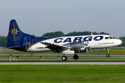 Nolinor Aviation Cargo Convair 580 C-FAWV (msn 154) YUL (Gilbert Hechema). Image: 905360.