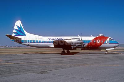 Nordair Lockheed 188C Electra C-GNDZ (msn 1111) (Ice Reconnaissance) YUL (Pierre Langlois). Image:
