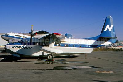 Nordair Grumman G-73T Turbo Mallard CF-UOT (msn J-34) YUL (Bruce Drum). Image: 104545.