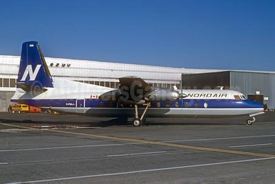 Nordair Fairchild Hiller FH-227E C-FNAJ (msn 508) YUL (Bruce Drum). Image: 102581.