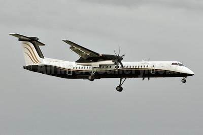 North Cariboo Air Bombardier DHC-8-402 (Q400) C-FGNJ (msn 4028) YYC (Tony Storck). Image: 923883.