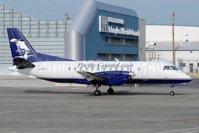 Pacific Coastal Airlines (Pacific Coastal.com) SAAB 340A C-GPCQ (msn 043) (orca) YVR (TMK Photography). Image: 912126.