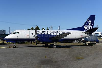 Pacific Coastal Airlines (Pacific Coastal.com) SAAB 340A C-GPCN (msn 027) YVR (Ton Jochems). Image: 928373.
