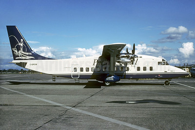 Pacific Coastal Airlines Shorts SD3-60 C-GPCW (msn SH.3622) (fisherman) YVR (Christian Volpati Collection). Image: 928370.