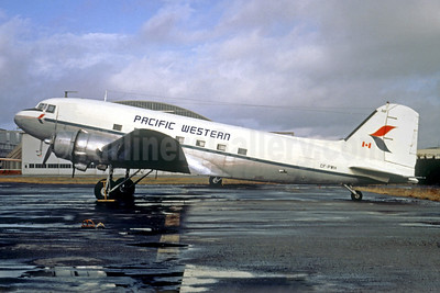 Pacific Western Airlines Douglas DC-3-227B CF-PWH (msn 2198) (Christian Volpati Collection). Image: 939377.