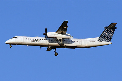 Porter Airlines Bombardier DHC-8-402 (Q400) C-GLQP (msn 4271) IAD (Brian McDonough). Image: 920637.