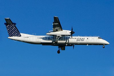 Porter Airlines Bombardier DHC-8-402 (Q400) C-GLQM (msn 4252) YUL (Gilbert Hechema). Image: 904164.