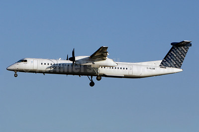 Porter Airlines Bombardier DHC-8-402 (Q400) C-GLQB (msn 4130) YUL (Gilbert Hechema). Image: 905342.