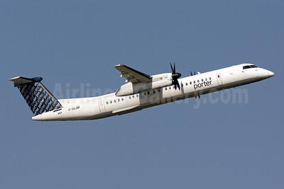 Porter Airlines Bombardier DHC-8-402 (Q400) C-GLQB (msn 4130) IAD (Brian McDonough). Image: 910555.