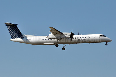 Porter Airlines Bombardier DHC-8-402 (Q400) C-GLQH (msn 4225) MYR (Jan Petzold). Image: 904820.