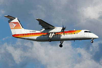 Provincial Airlines Bombardier DHC-8-315 C-FPAE (msn 562) (Iberia Regional colors) YUL (Gilbert Hechema). Image: 911650.
