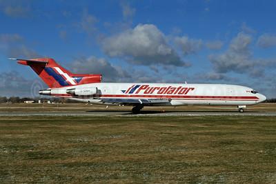 Purolator Courier-Kelowna Flightcraft Air Charter  Boeing 727-227 (F) C-GIKF (msn 20772) YHM (Reinhard Zinabold). Image: 907933.