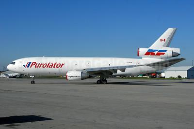 Purolator Courier-Kelowna Flightcraft Air Charter McDonnell Douglas DC-10-30 (F) C-GKFB (msn 46949) YHM (TMK Photography). Image: 920646.