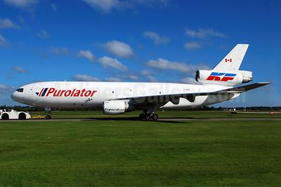 Purolator Courier-Kelowna Flightcraft Air Charter McDonnell Douglas DC-10-30 (F) C-GKFA (msn 46921) YHM (Reinhard Zinabold). Image: 905849.