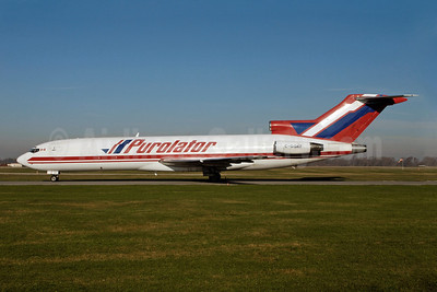 Purolator Courier-Kelowna Flightcraft Air Charter  Boeing 727-243 (F) C-GQKF (msn 21265) YHM (Reinhard Zinabold). Image: 907934.