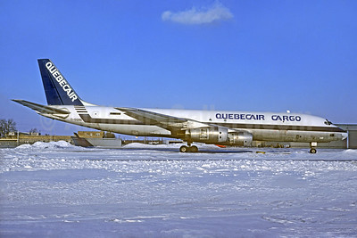 Quebecair Cargo McDonnell Douglas DC-8F-54 Jet Trader C-GQBG (msn 45860) YYZ (Christian Volpati Collection). Image: 937925.