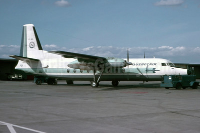Flight QB 255 crashed after takeoff from Quebec City on March 29, 1979, 17 killed