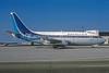 Quebecair Boeing 737-2Q9 C-GQBT (msn 21719) (TEA colors) MIA (Bruce Drum). Image: 102857.