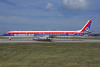 Quebecair McDonnell Douglas DC-8-63 C-GQBA (msn 46155) (Fiesta) ORY (Jacques Guillem). Image: 937848.