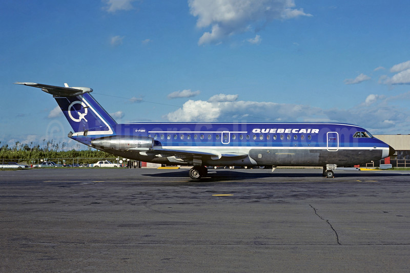 Quebecair BAC 1-11 304AX C-FQBO (msn 112) (Christian Volpati Collection). Image: 912179.