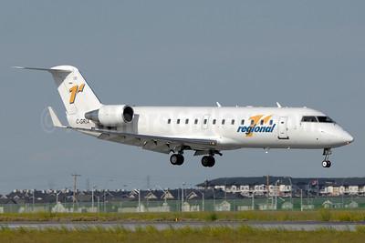 Regional 1 Airlines Bombardier CRJ200 (CL-600-2B19) C-GRIA (msn 7561) YYC (Chris Sands). Image: 928326.