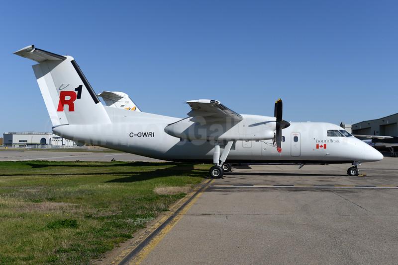 R1 Airlines Bombardier DHC-8-102 Dash 8 C-GWRI (msn 098) YYC (Ton Jochems). Image: 928324.
